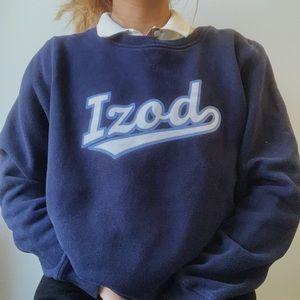 izod navy blue sweatshirt ✰